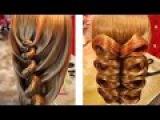 Подборка уроков - Необычные причёски - Hairstyles tutorials compilation (time 5853) by REM