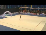 Daria Murai junior Rope - Ukrainian Cup 2016