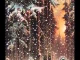видео открытка  КРАСИВОЕ ПОЗДРАВЛЕНИЕ С РОЖДЕСТВОМ !