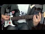 Как играть Noize MC(Рычаги машин)- Лысый мужик в наколках (разбор на гитаре) #15