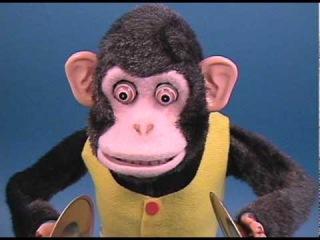 TOY STORY Cymbal Monkey Original 1960s MUSICAL JOLLY CHIMP
