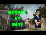 CSGO POV Titan kennyS vs Natus Vincere (2718) overpass @ DreamHack Open Summer 2015