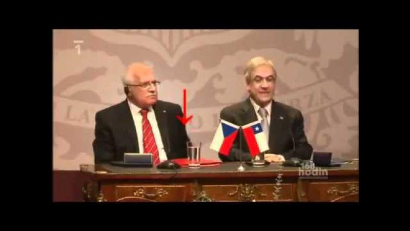 Как президент Чехии украл ручку
