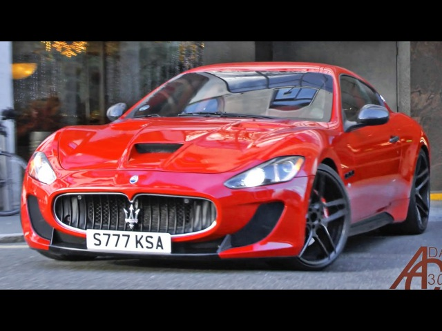 Maserati GranTurismo S Novitec Tridente revs and acceleration