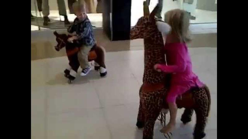 Поницикл - детская механическая лошадка