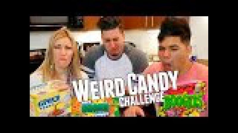 WEIRD CANDY CHALLENGE W/ D-Trix