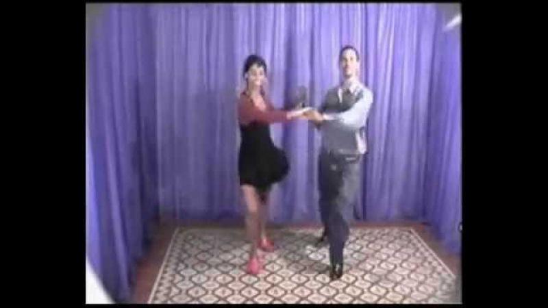 Видео уроки сальсы от кубинцев Salsa a la Cubana часть 2