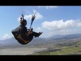 Свободный полет на параплане КРАСИВО!