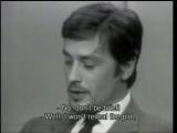 Самурай/Le samouraï (1967) Интервью с Аленом Делоном