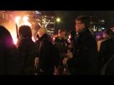 Факельное шествие .Рождественский Вечер в Эйндховене .2015
