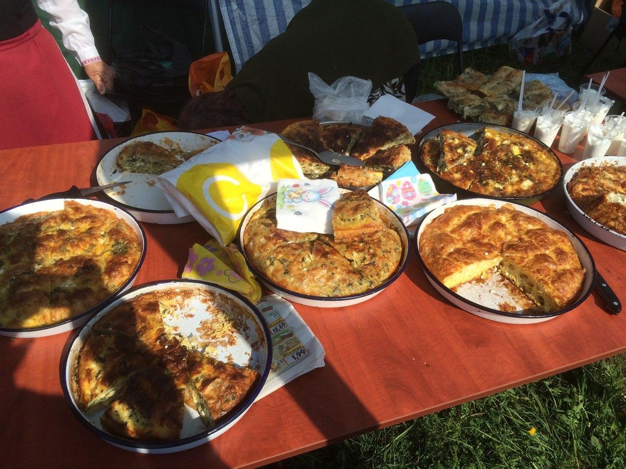 Праздник национальной кухни в болгарии