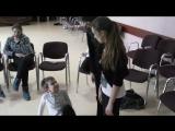 Наши занятия по актерскому мастерству. Детский театр эстрады