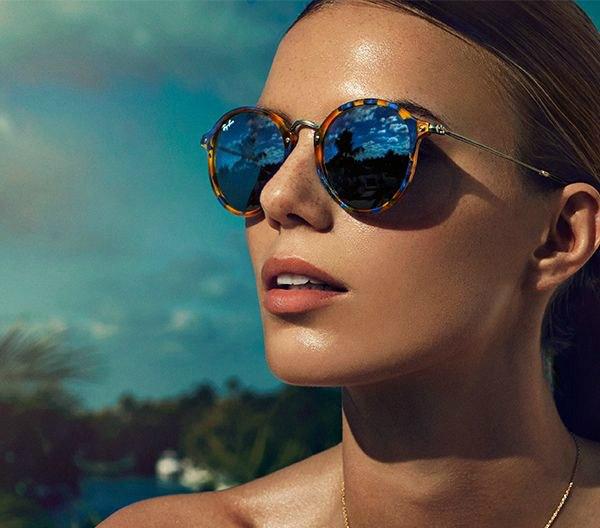 Купить солнцезащитные очки полароид оптика