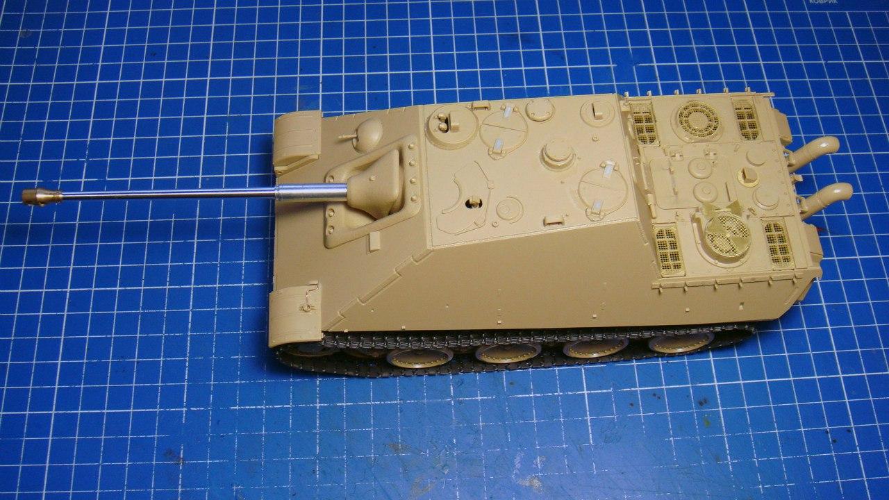 Jagdpanther (Late\поздний вариант) (Tamiya 35203 1/35) 2lTU_3nP8Dw