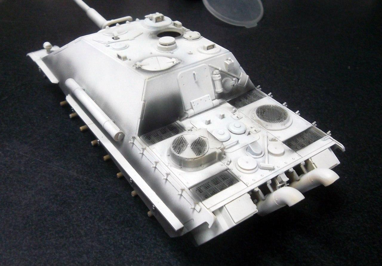 Jagdpanther (Late\поздний вариант) (Tamiya 35203 1/35) VfbwYjHEIHM