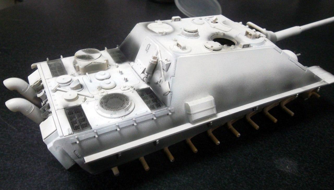 Jagdpanther (Late\поздний вариант) (Tamiya 35203 1/35) I7TfdHA4MZs