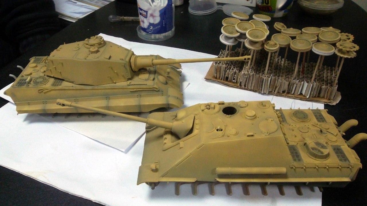 Jagdpanther (Late\поздний вариант) (Tamiya 35203 1/35) YZPSz40sh1I