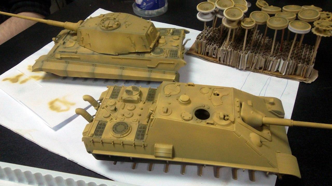 Jagdpanther (Late\поздний вариант) (Tamiya 35203 1/35) DPFyh3fAh6s
