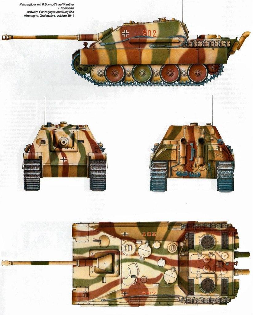 Jagdpanther (Late\поздний вариант) (Tamiya 35203 1/35) 8Lxb7ZbPFiM