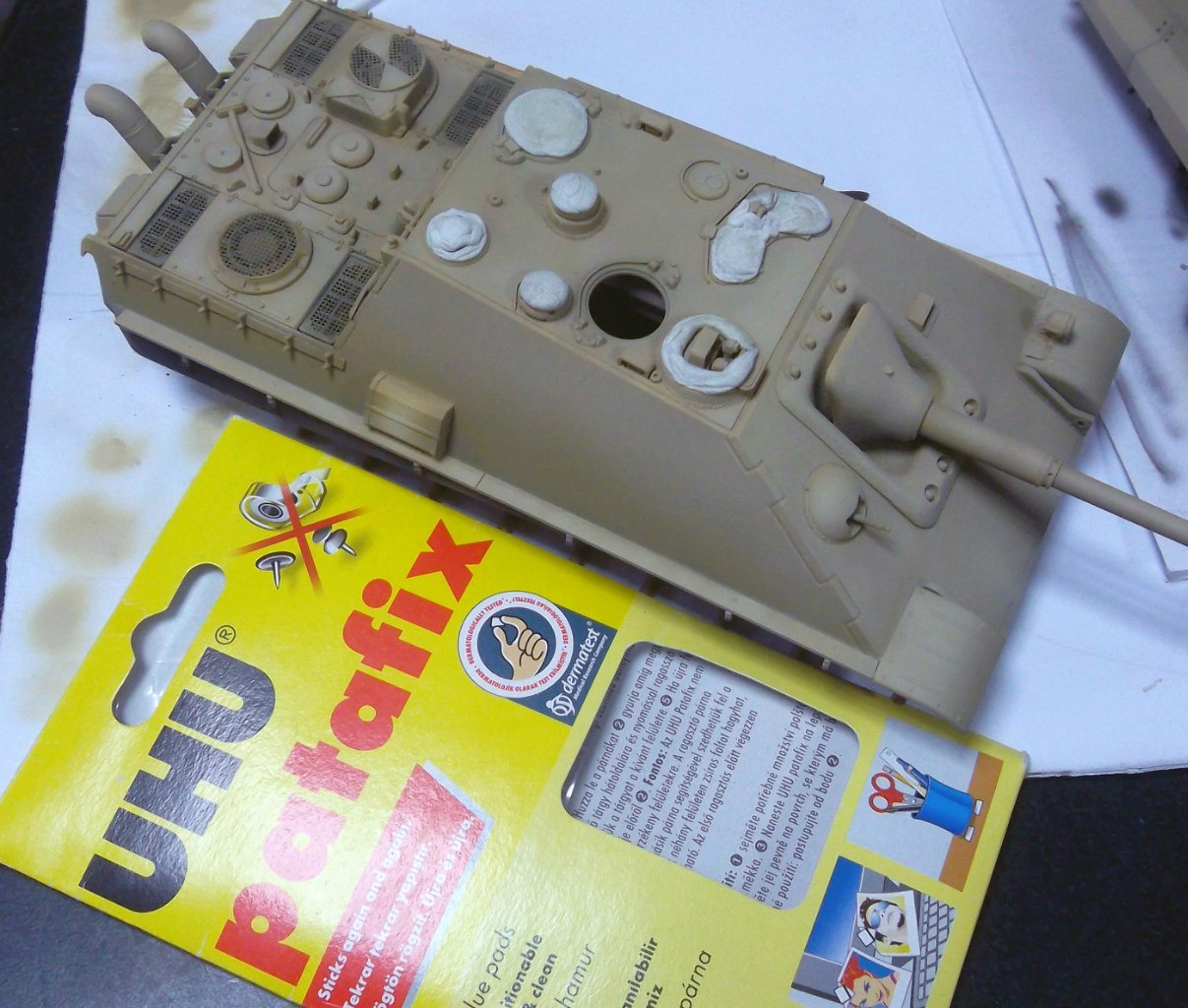 Jagdpanther (Late\поздний вариант) (Tamiya 35203 1/35) GkaJ5kl8_qU