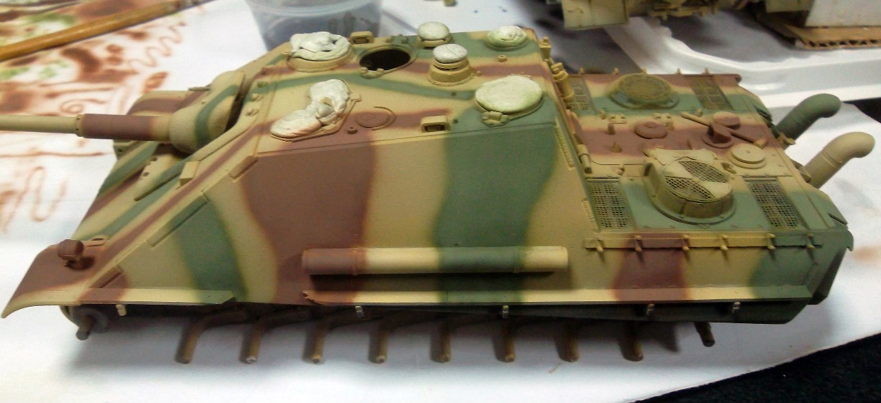 Jagdpanther (Late\поздний вариант) (Tamiya 35203 1/35) ZIhpVPUEYAU