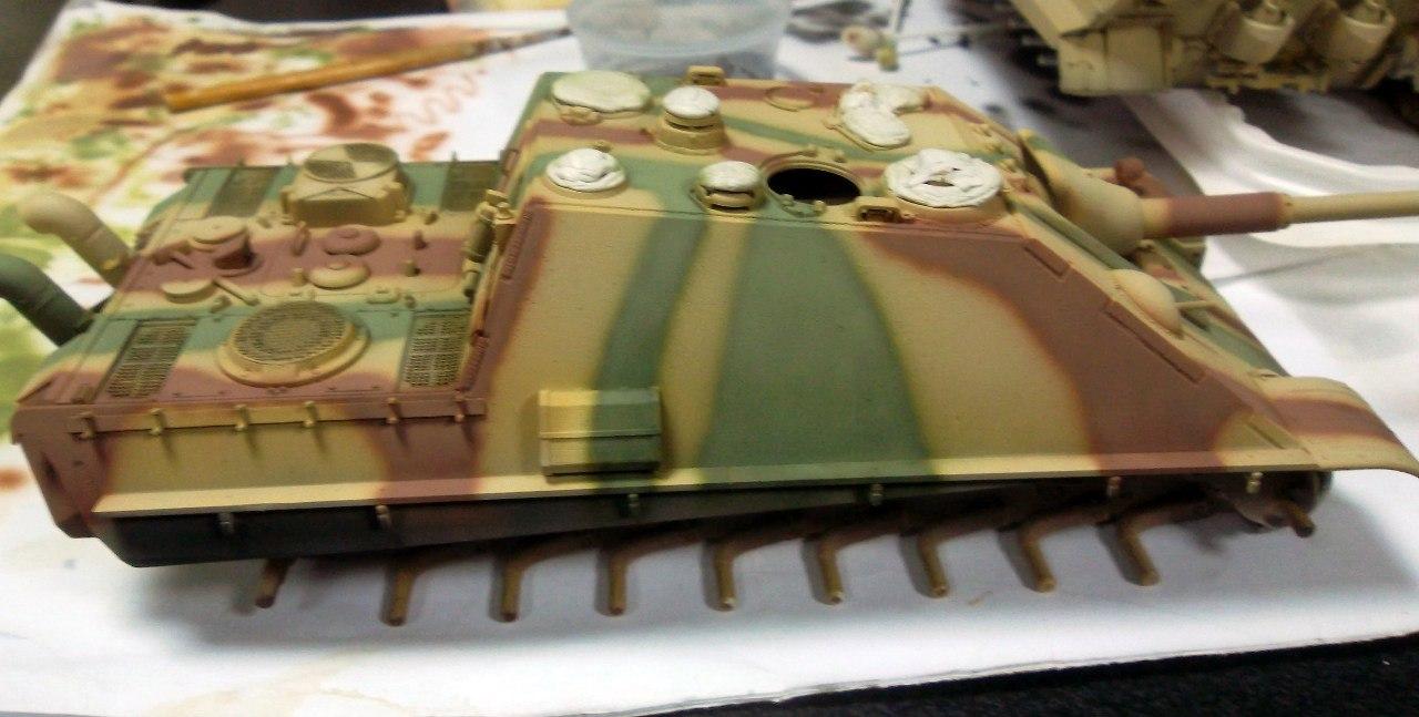 Jagdpanther (Late\поздний вариант) (Tamiya 35203 1/35) HpCb_UTUWjE