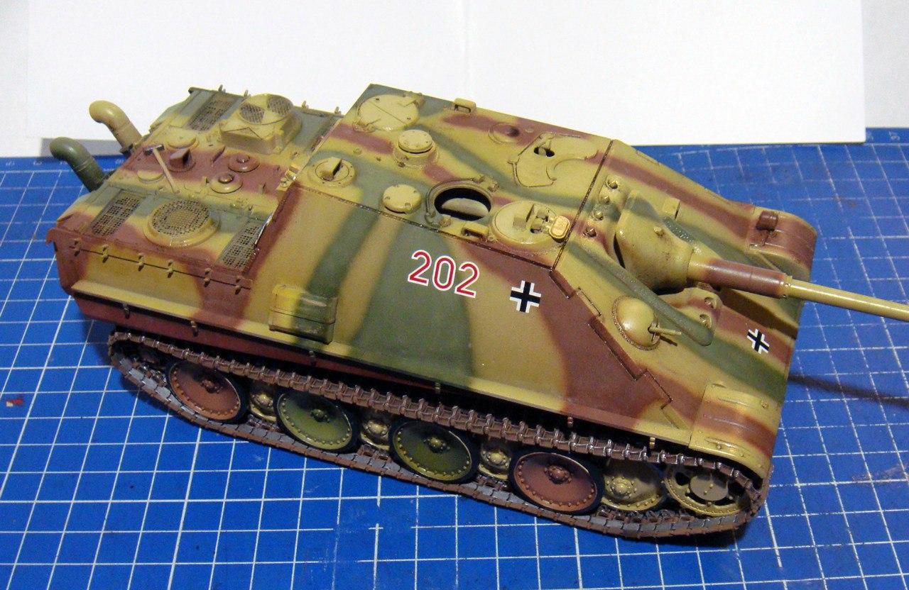 Jagdpanther (Late\поздний вариант) (Tamiya 35203 1/35) 9-iT2EIW-kg