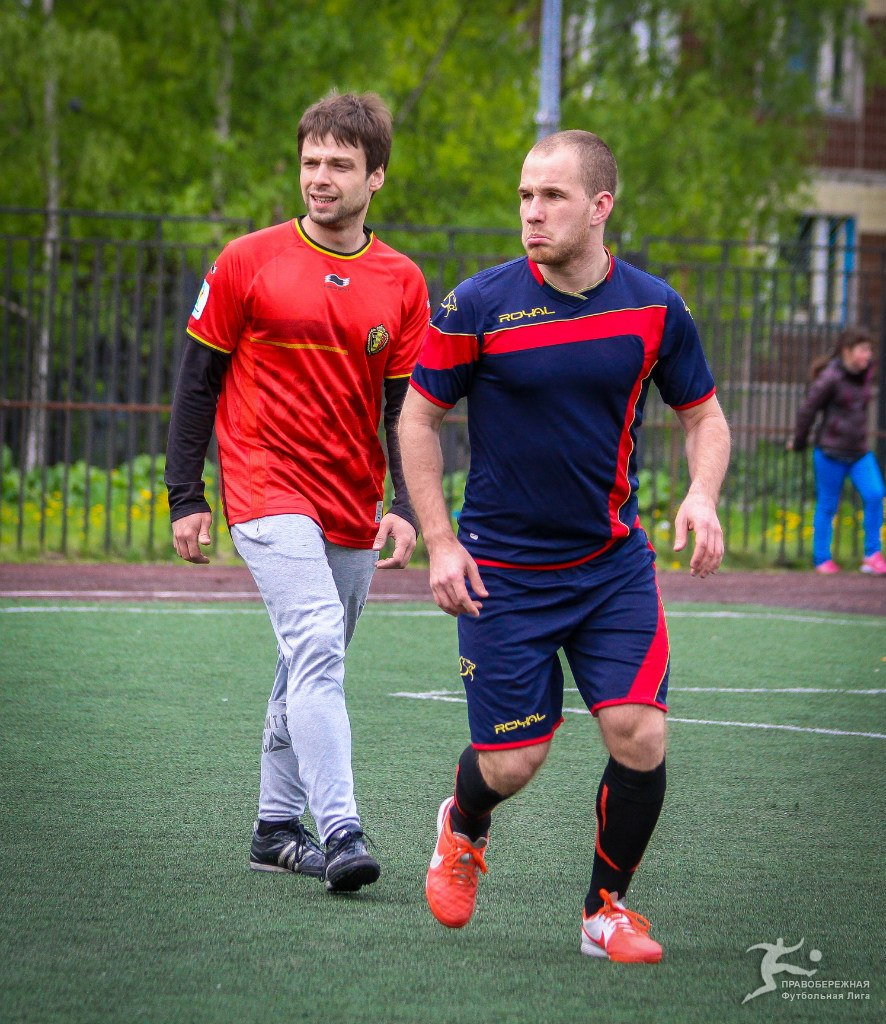 Вахтанг Хасая в матче ЖКВД - Спальный Район