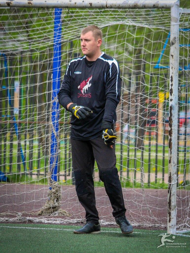 Виталий Тимченко в матче ЖКВД - Спальный Район