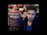 Красивая девушка показала на вебкамеру свою киску!!! 21+