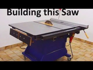 Building the big Table Saw