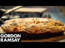 Bacon Pea Goat's Cheese Frittata Gordon Ramsay