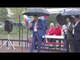 Глава Ленобласти открыл новую спортивную площадку в деревне Большое Куземкино Кингисеппского района