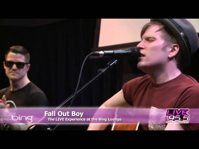 Fall Out Boy - Young Volcanoes (Bing Lounge)