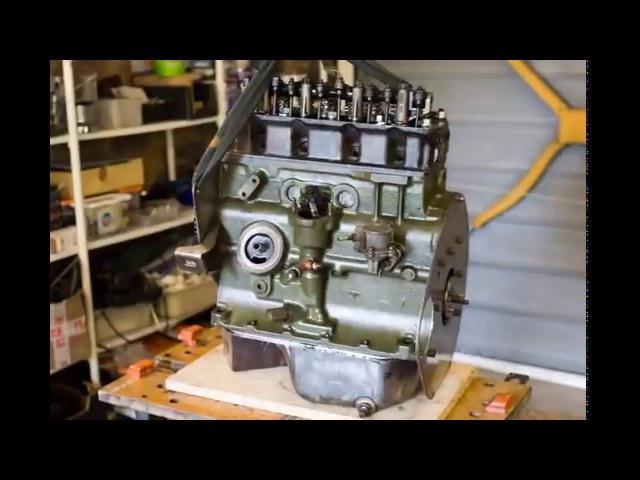 Разборка и сборка двигателя по кадрам 3000 фото