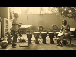 Khalifa and Bassidi Koné - Djembe and Balafon Duet (Dec 2015)