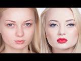 Hollywood make-up. Голливудский макияж. Урок профессионального визажа. (Урок №21)