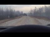 Лобовое столкновение с танком