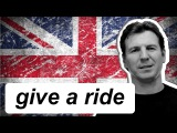 Разговорный английский - give somebody a lift