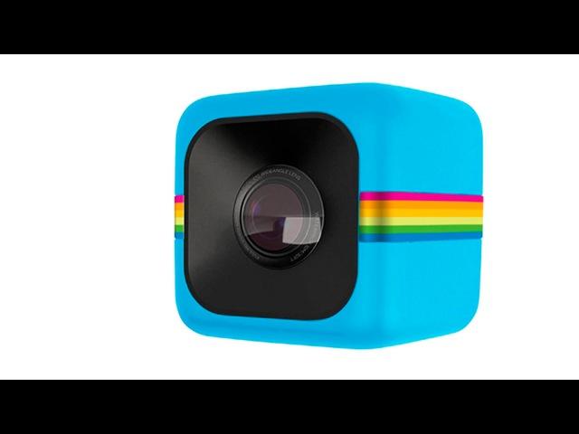 Обзор мини экшн камеры Polaroid Cube