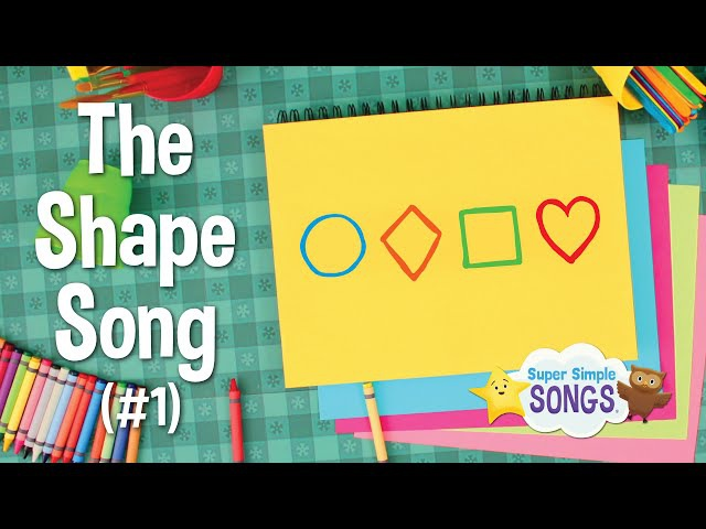 The Shape Song 1 | Super Simple Songs