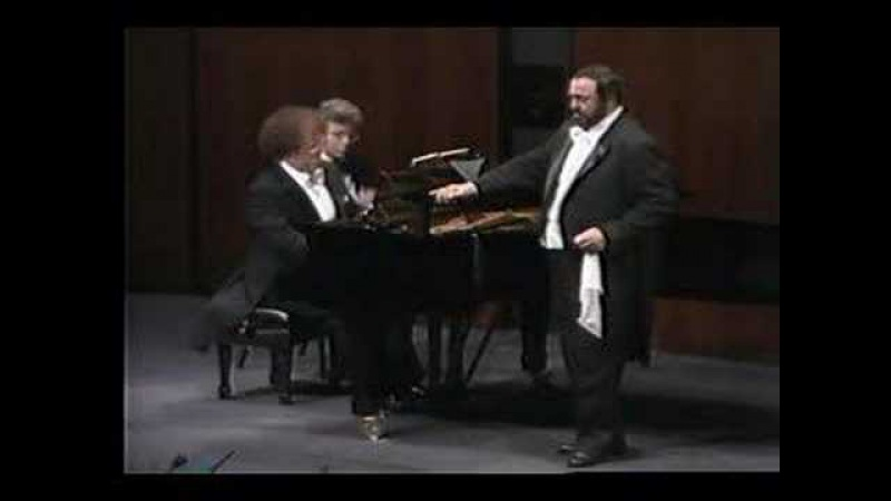 Pavarotti- Bellini- Malinconia, ninfa gentile