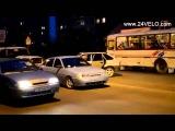 12 09 2015 Красноярск ДТП с пострадавшими на улице Павлова