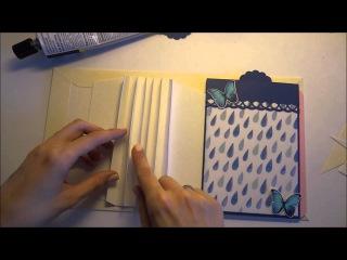 Мини альбом из конвертов, часть 2  - Скрапбукинг мастер-класс / Aida Handmade