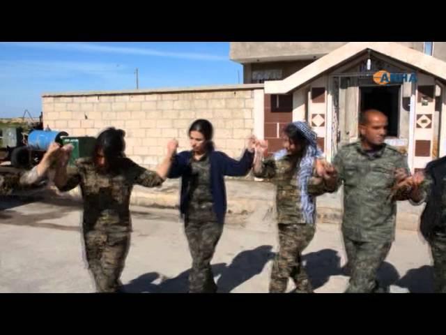 انضمام 20 مقاتلة لصفوف وحدات حماية المرأة 20 jin tevl23