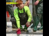 poor baby lol #infinite #sunggyu #성규 #runningman
