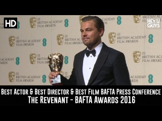 Best Actor & Best Director & Best Film BAFTA Press Conference  - Leonardo Di Caprio / The Revenant