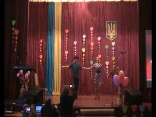 Школа Мистецтв - виступ на день св.Валентина в Коледжі.