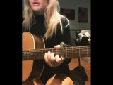 Ellie Goulding - The Lakes Of Canada (Cover The Innocence Mission). Part 1