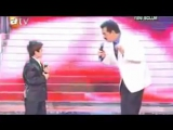 Kurdish Kid singing in Turkish amazing voice feat. Kurdish Star Ibrahim tatl